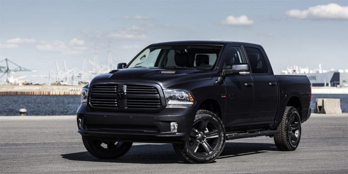 Dodge Ram Sport Black Package